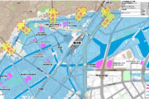 「横浜で津波が来たら内陸へ」ハザードマップを更新